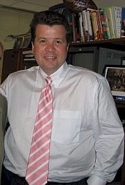 "The svelte Cavuto wearing his ""babe magnet"" tie"