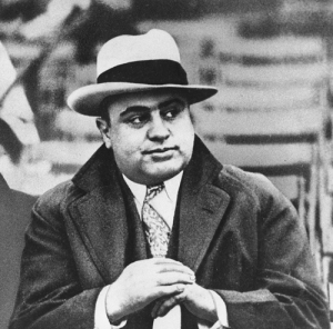 Although his business card claimed he was a used furniture salesman, Al Capone owned a distillery in Havana to supply the Chicago speakeasy trade