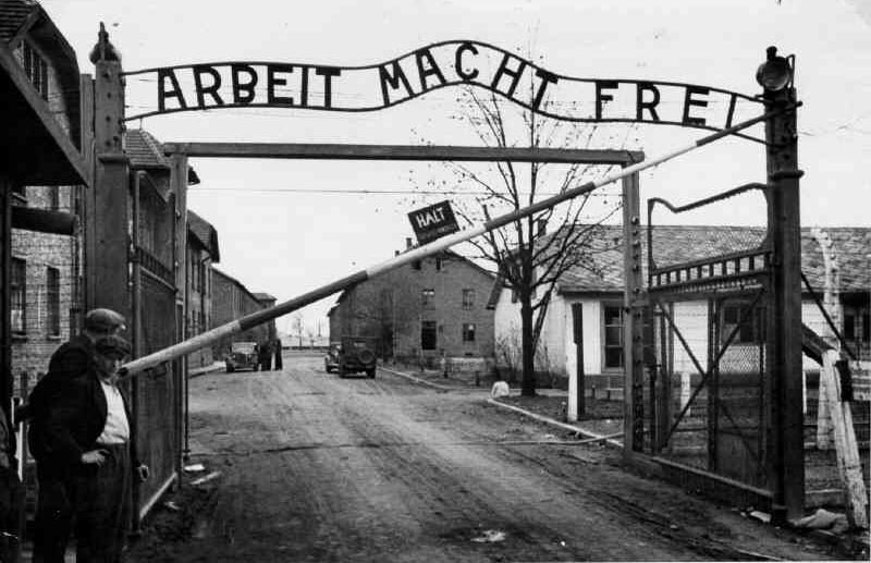 Theft of a symbol the main gate sign at auschwitz notes from the
